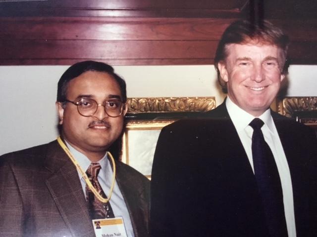 Current US President Donald Trump