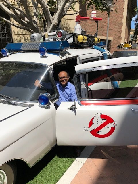 Ghost Busters vehicle